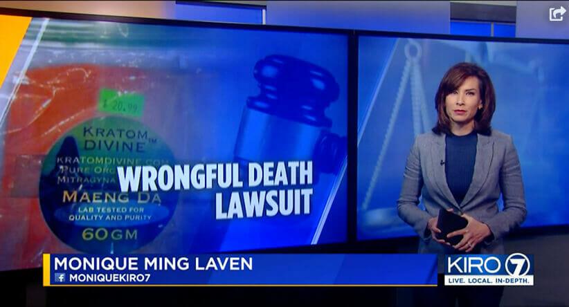 Kratom wrongful death lawsuit Washington