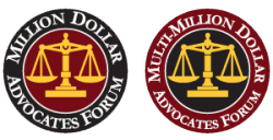 multi-million dollars advocates forum logos