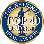 Top 40 Under 40 National Trial Lawyers Award