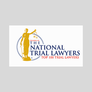National Trial Lawyers top 100 logo