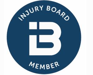 Injury board member badge