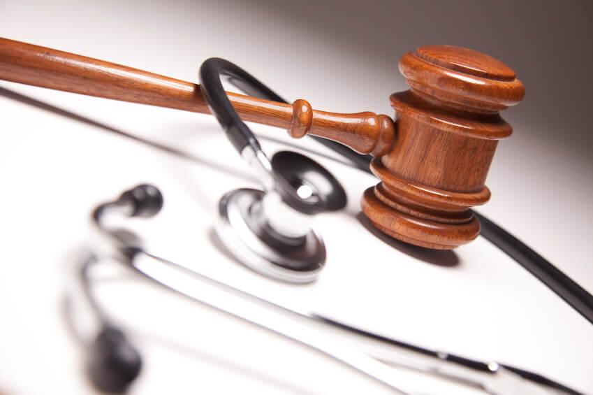 Stethoscope and Gavel